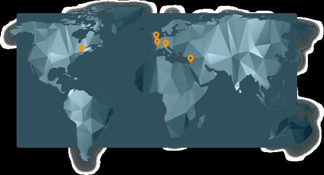 Innovation Software Company - map